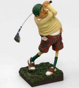 Статуэтка ''Гольфист'' (Fore…! The Golfer. Forchino), мат.-полистоун, 38 см